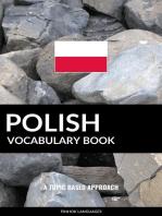 Polish Vocabulary Book