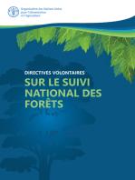 Directives volontaires sur le suivi des forêts