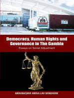 Democracy, Human Rights and Governance in The Gambia: Essays on Social Adjustment