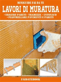 Lavori di Muratura: Erigere pareti - tramezze  • intonaco  • piastrellare pavimenti e pareti