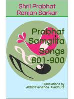 Prabhat Samgiita – Songs 801-900
