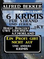 Sammelband 6 Krimis