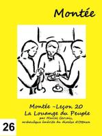 Montée -Leçon 26 À Jérusalem