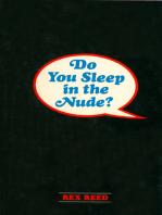 Do You Sleep in the Nude?
