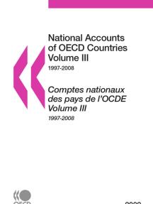SET: National Accounts of OECD Countries 2009, Volume IIIa, Volume IIIb