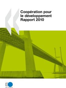 Coopération pour le développement : Rapport 2010