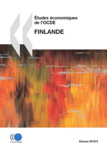Études économiques de l'OCDE : Finlande 2010