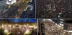 Millions Of People Take To The Streets In The Largest Show Of Support For The Feminist Struggle In Spain's History