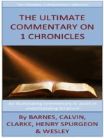 The Ultimate Commentary On 1 Chronicles