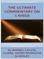 The Ultimate Commentary On 1 Kings