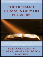 The Ultimate Commentary On Proverbs