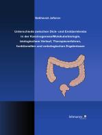 Unterschiede zwischen Dick- und Enddarmkrebs in der Karzinogenese/Molekularbiologie, biologischem Verlauf, Therapieverfahren, funktionellen und onkologischen Ergebnissen