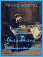 Eine blassblaue Frauenschrift