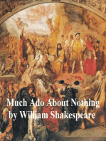Much Ado About Nothing, with line numbers
