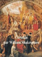 Coriolan, Coriolanus in French