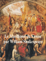 Le Marchand de Venise (The Merchant of Venice in French)