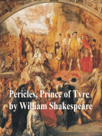 Pericles, Prince of Tyre, with line numbers