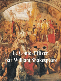 Shakespeare's Winter's Tale in French