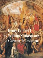 Der Erste Theil von Koenig Heinrich dem Vierten
