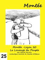 Montée -Leçon 25 La Montée vers Jérusalem