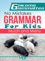 No Mistakes Grammar for Kids, Volume I, Much and Many