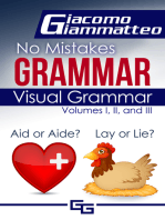 Visual Grammar, No Mistakes Grammar, Volumes I, II, and III