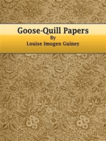 Goose-Quill Papers