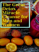 The Great Detox Miracle Cleanse for Men and Women