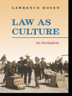 Law as Culture