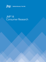 JMP 14 Consumer Research