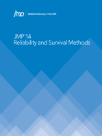JMP 14 Reliability and Survival Methods