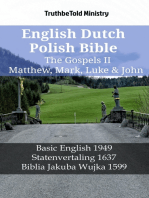 English Dutch Polish Bible - The Gospels II - Matthew, Mark, Luke & John