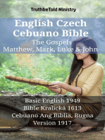 English Czech Cebuano Bible - The Gospels - Matthew, Mark, Luke & John