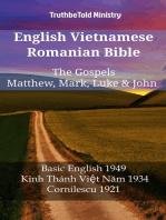 English Vietnamese Romanian Bible - The Gospels - Matthew, Mark, Luke & John