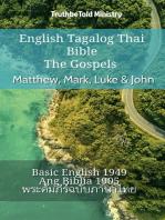 English Tagalog Thai Bible - The Gospels - Matthew, Mark, Luke & John
