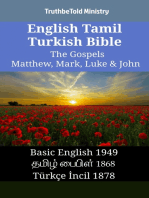 English Tamil Turkish Bible - The Gospels - Matthew, Mark, Luke & John