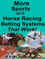 More Sports and Horse Racing Betting Systems That Work!