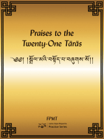 Praises to the Twenty-One Taras eBook