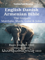 English Danish Armenian Bible - The Gospels - Matthew, Mark, Luke & John