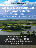 English Armenian Cebuano Bible - The Gospels - Matthew, Mark, Luke & John