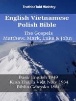 English Vietnamese Polish Bible - The Gospels - Matthew, Mark, Luke & John