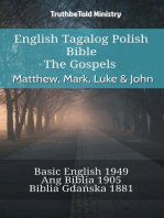 English Tagalog Polish Bible - The Gospels - Matthew, Mark, Luke & John