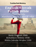 English Slovak Polish Bible - The Gospels - Matthew, Mark, Luke & John