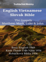 English Vietnamese Slovak Bible - The Gospels - Matthew, Mark, Luke & John