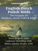 English Dutch Polish Bible - The Gospels III - Matthew, Mark, Luke & John