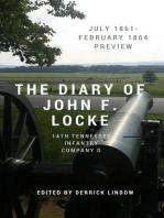 The Civil War Diary of John F. Locke, 14th Tennessee (1861)