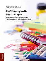 Einführung in die Lerntherapie