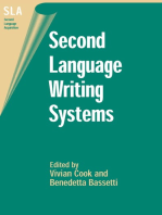 Second Language Writing Systems