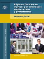 Régimen fiscal de los ingresos por actividades empresariales y profesionales