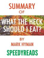 Summary of Food